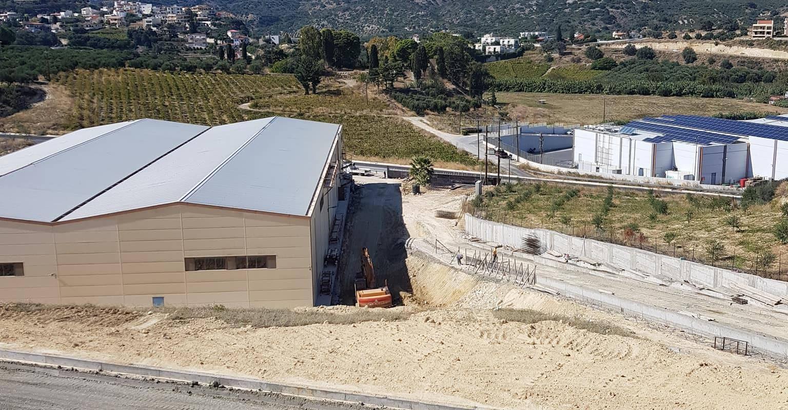 Nέο έργο υπό κατασκευή για την ΠΕΡΝΙΕΝΤΑΚΗΣ ΑΕΒΕ
