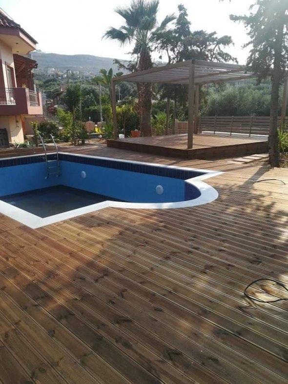 Κατασκευή Πισίνας και Εξωτερικού χώρου